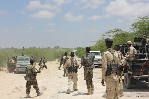 Somali National Army destroys al-Shabaab militia bases