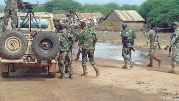 Somali army kill 17 al-shabaab militants in Lower Shabelle region