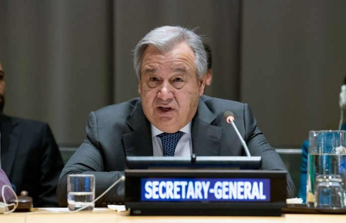 UN chief says question of Palestine remains distressingly unresolved