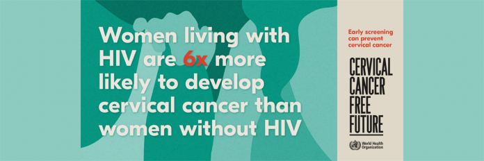 WHO releases new estimates of the global burden of cervical cancer associated with HIV