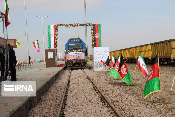 Khaf-Herat railway, east to west link with regional and international function