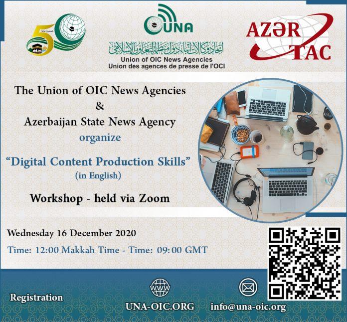 UNA, AZERTAC to organize workshop on
