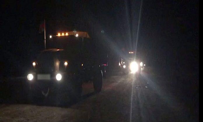 Units of Azerbaijan Army enter Lachin district
