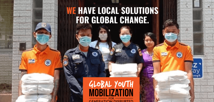 World's largest youth organizations, representing 250 million members, and WHO launch global mobilization to respond to disruptive impacts of COVID-19 on young people