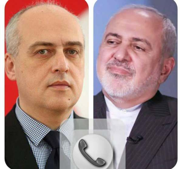 Iran FM in Tbilisi contacts Georgian FM on phone to review regional issues