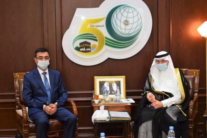 Al-Othaimeen receives Uzbekistan's envoy to OIC