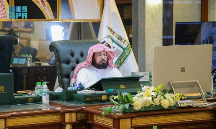 Al-Sudais announces plan of Presidency of the Two Holy Mosques for Ramadan