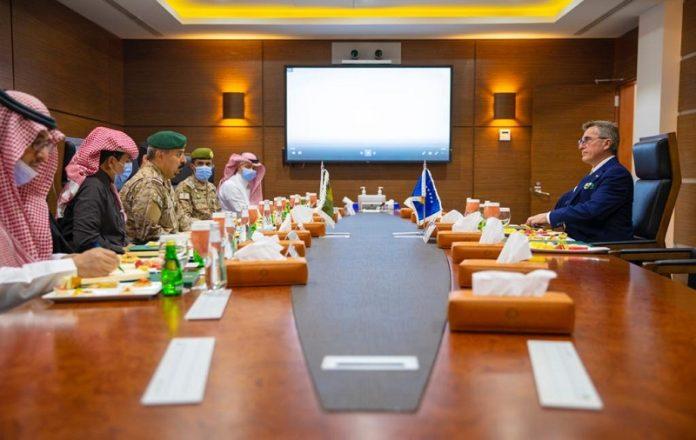 Ambassador of Kosovo's to Saudi Arabia visits IMCTC headquarters in Riyadh