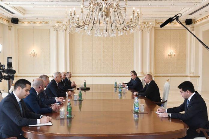 Azerbaijan President Aliyev receives Slovak Minister of Foreign and European Affairs
