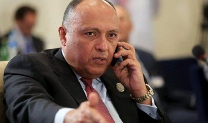 Egypt's FM discusses with EU foreign policy chief GERD file, regional developments