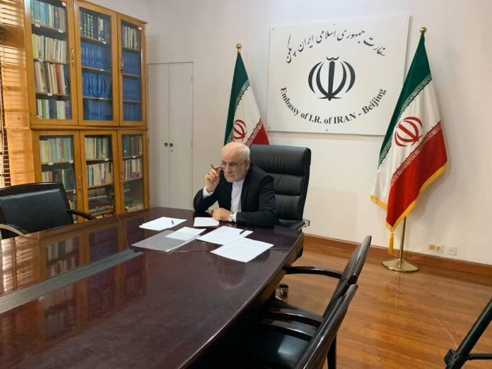 Envoy: Iran-China comprehensive cooperation document not against any other country