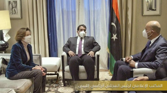 France renews full support for Libya's new executive authority