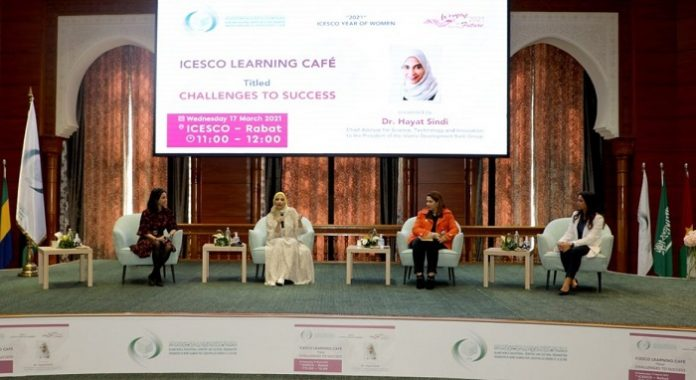 ICESCO Learning Café hosts Dr. Hayat Sindi