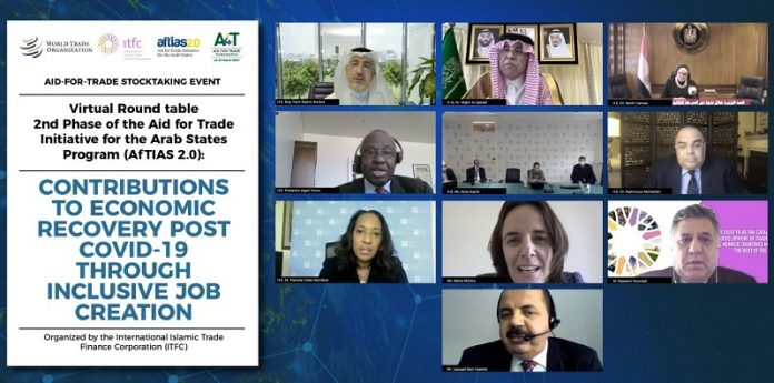 ITFC organizes roundtable discussion on Aid for Trade Initiative for Arab States Program
