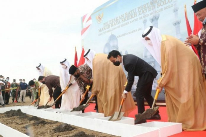 Indonesia begins building replica of Sheikh Zayed Grand Mosque with UAE grant
