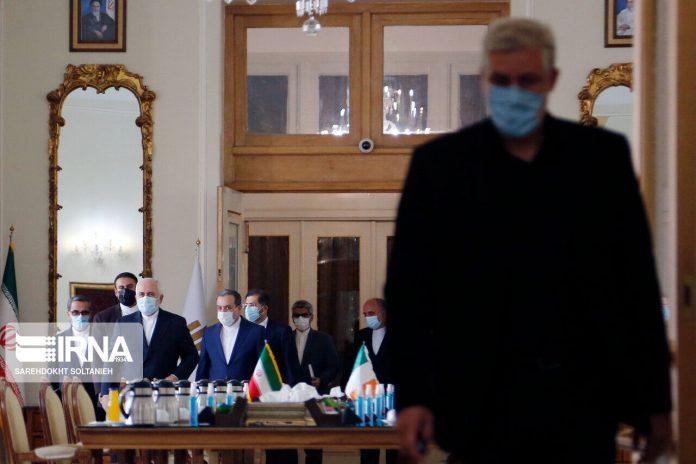 Iran, Ireland FMs meet in Tehran