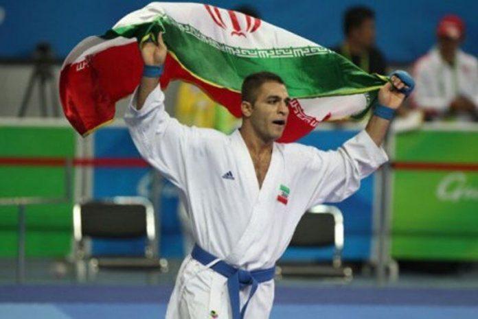 Iranian karateka wins Gold of world league
