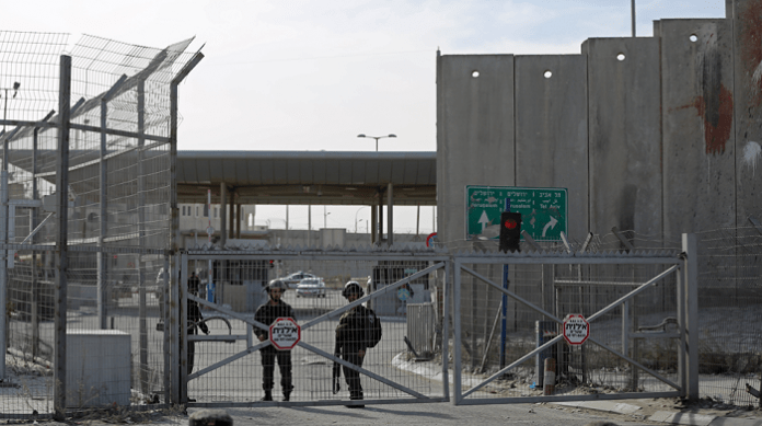 Israel imposes full closure on Palestinian territories on election day
