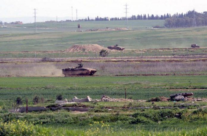 Israeli military vehicles infiltrate Gaza border, destroy agricultural land
