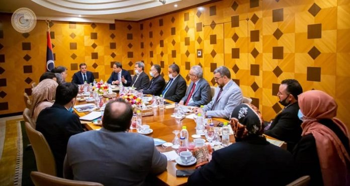 Libya's new government meeting discusses plans to improve public services