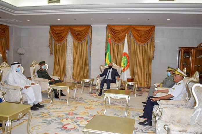Mauritanian President receives Chief of Staff of UAE Armed Forces