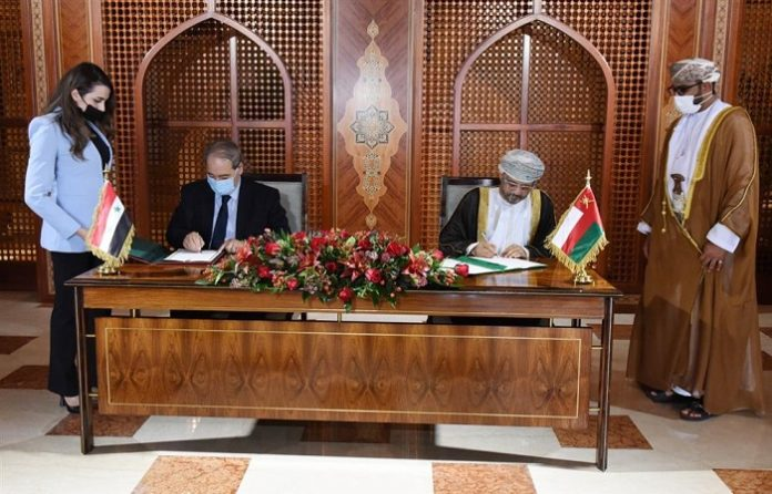 Oman's foreign minister holds talks with Syrian counterpart in Muscat