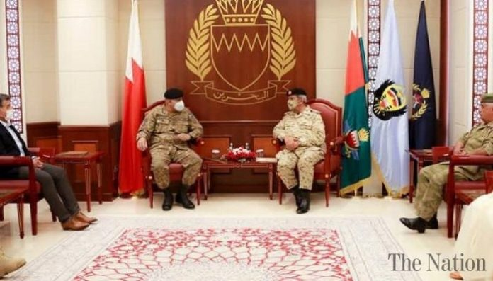Pakistan, Bahrain discuss security and defense cooperation