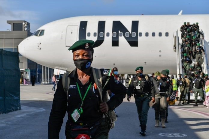 144 Nigerian police officers arrive in Mogadishu to support Somali Police Force