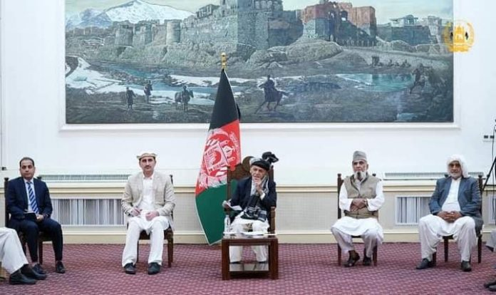 Afghan President says continued war and bloodshed not acceptable