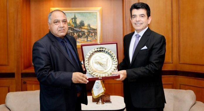 AlMalik meets with Libya's Permanent Delegate to ICESCO in Rabat