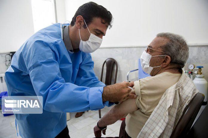 Coronavirus vaccination in Kermanshah, Iran