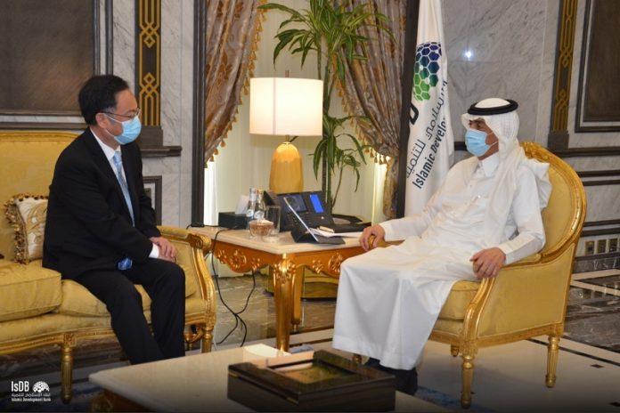 IsDB President receives Chinese ambassador to Saudi Arabia