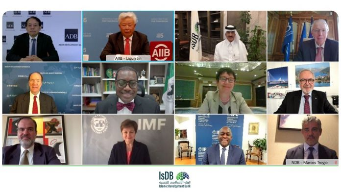 IsDB chief participates in 1st meeting of Heads of Multilateral Development Banks in 2021