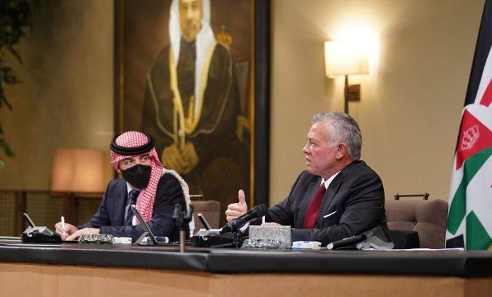 Jordanian King reaffirms support for steadfastness of Jerusalemites
