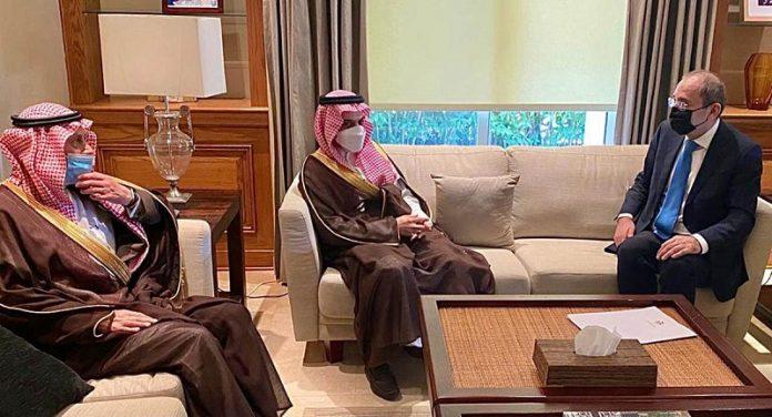 Jordan's foreign minister receives Saudi counterpart