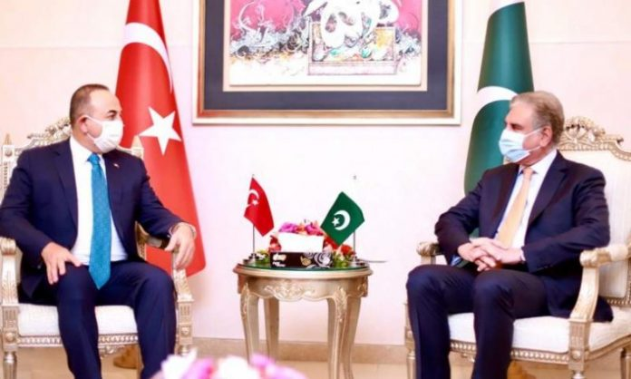 Pakistan, Turkey FMs discuss Afghan peace process, foreign troops withdrawal