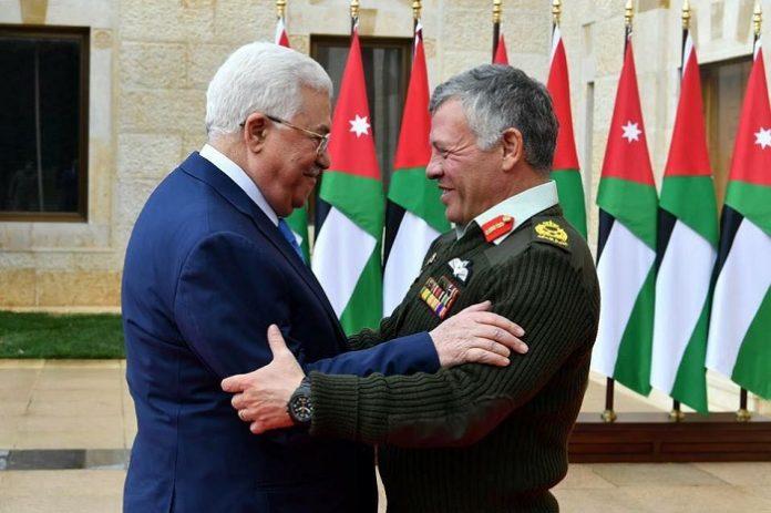 President Abbas backs decisions made by King Abdullah II of Jordan