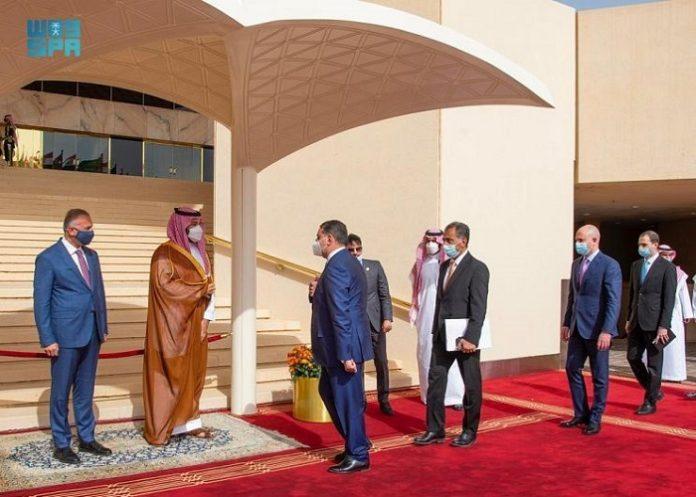 Saudi Crown Prince, Iraq's PM discuss efforts to combat terrorism, achieve common interests