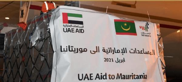 UAE sends food aid to Mauritania