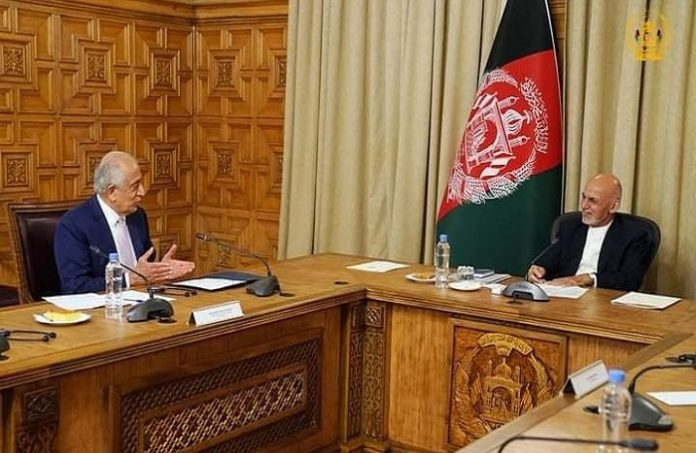 US envoy discusses peace process with Afghan leaders ahead of Turkey meeting