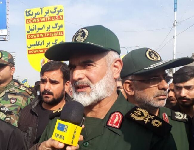 Weapons cargo seized in Iran's SW province: Commander