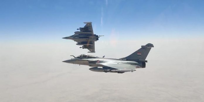 Egypt signs deal with France to buy Rafale fighter jets