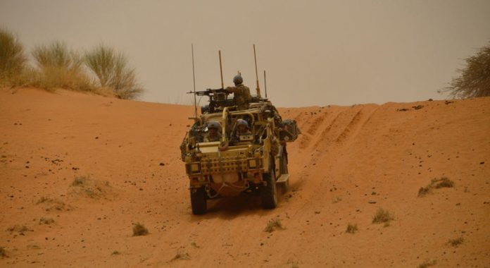 First Person: British UN peacekeeper stays on 'A-game' to keep Malians safe