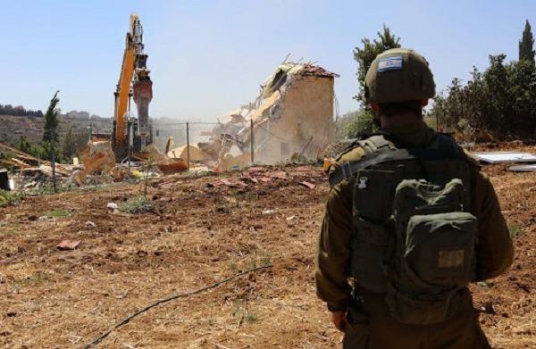 Israeli forces demolish structures, seize land near Bethlehem
