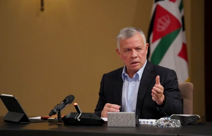 Jordanian King issues directives for additional measures to support Palestinians