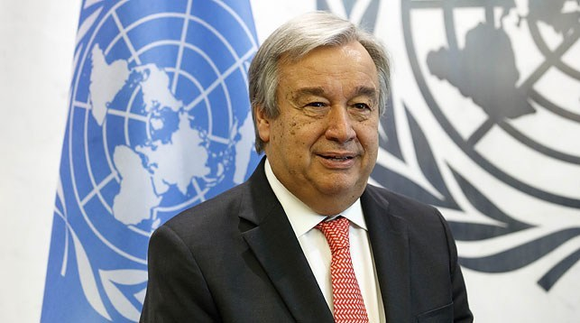 UN chief calls for global partnership to address COVID, climate change and achieve SDGs
