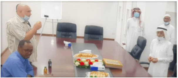 UNA holds greeting party for its staff members