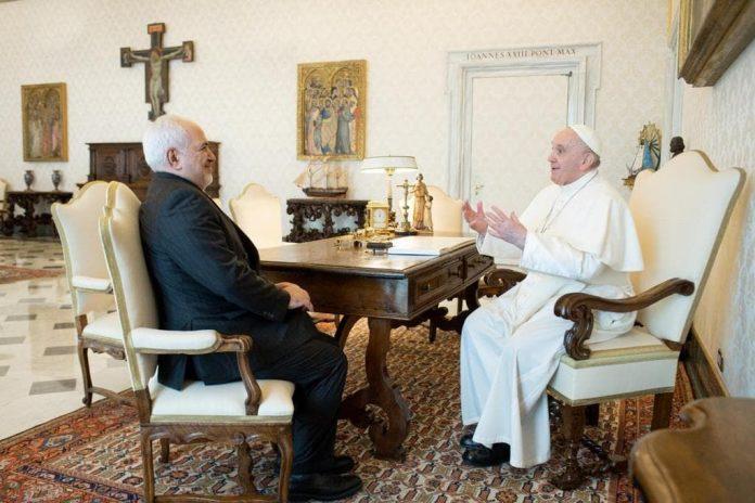 Zarif, Pope hold talks