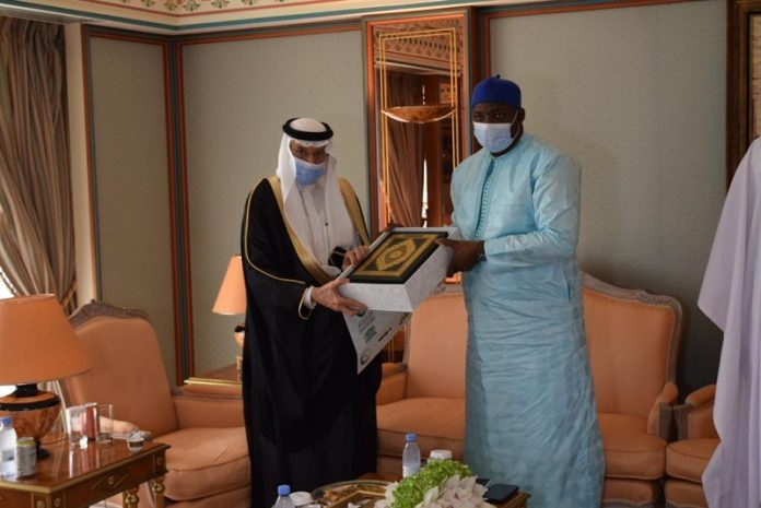 Al-Othaimeen, Barrow review Gambia's preparations to host next OIC Summit