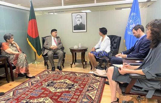 Bangladeshi FM seeks UN roadmap for Rohingya repatriation